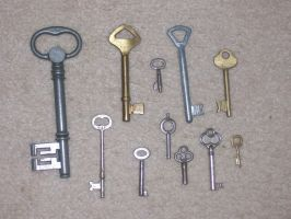 Keys by NeverlandStock
