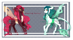 CLOSED | Changeling Adopt Auction by Ramyuun