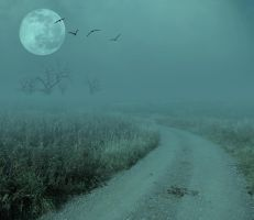 Eerie Landscape Premade 02.. by Alz-Stock-and-Art