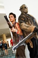 LBCC - Ash Williams and Jason Voorhees by BrianFloresPhoto