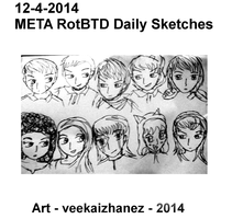 META RotBTD 2014 Daily Sketch 4-12 by veekaizhanez