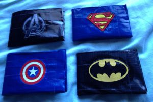 Marvel/DC Comics Duct Tape Wallets by LishaChan
