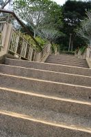 Going Up the stairs by seantriana