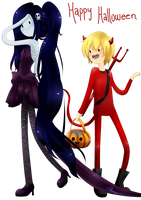 finceline Halloween by Vika01