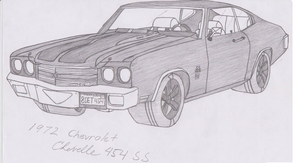 1970 Chevrolet Chevelle SS 454 by jmig3