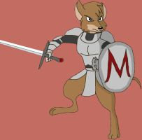Martin of Redwall by DarthCraftus