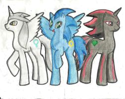 Triple S Estilo Pony :D by silverjaqui