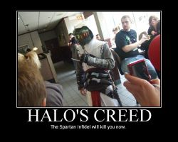 Halo's Creed by scottishghost55