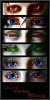Eyes: contest entry by Harlequin-Elle