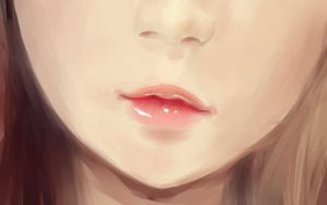 Lips of a doll by arrhenius-ohlm
