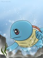 Squirtle - Deep Dive by roddz-art