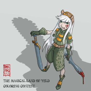Magical Land of Yeld Coloring Entry by oinkfrog
