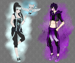 FAIRY TAIL COLLAB with XRyushi - You color by DarkLordLuzifer