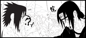 the fight of the Uchiha by dorot510