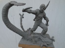 Riddick sculpture finished sculpt unpainted by b1938dc