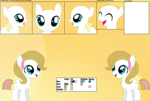 Skycloud's official reference sheet (REUPLOADED) by Starlollipop