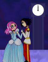 NaruDisney-When The Clock Strikes 12 by GothicDancer
