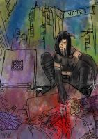 X-23 by thequeerzebra