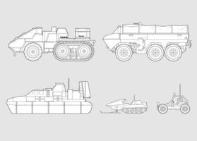 OLD Vehicle Concept Art by torvenius