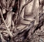 The Vagabond of the Forest by peet