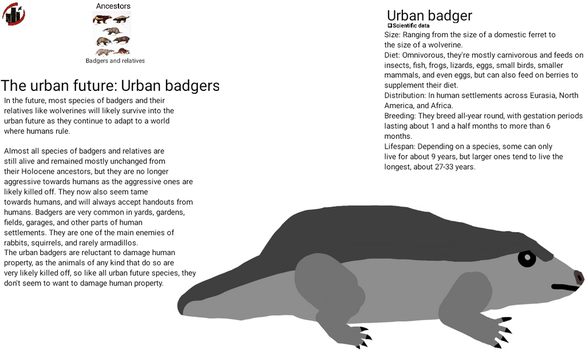 Urban Future - Urban badgers by dylan613