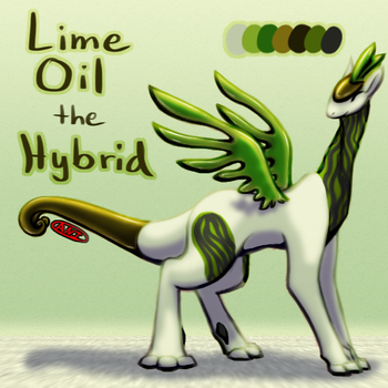 Lime Oil the Hybrid by EnterTheDwelling