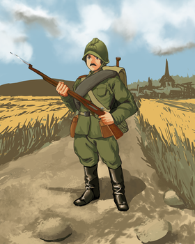 The Imperial Russian Army by stellarzealot