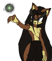 .:Quicky!:. Vaxier the Wolf by XaveNDaNirvana