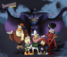 Darkwing Duck Poster by Lakenight