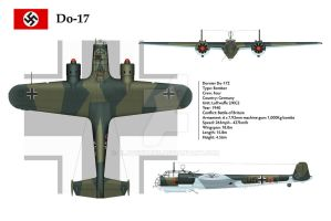 Do-17Z KG2 3-View 1 by WS-Clave