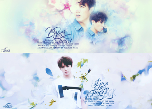 [SHARE PSD] Happy 19th Birthday JungKook by CR-Fox