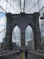 Brooklyn Bridge, photo version by quasigeek