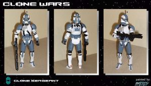 Custom Clone Sergeant by jaw500