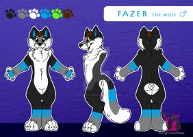 Fazer the wolf - Reference sheet by FurryFursuitMaker