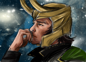 Loki by Chicken-Priestess