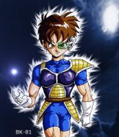Bekay the Saiyan by BK-81