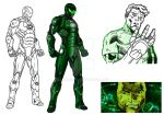 Project Rooftop Green Lantern Redesign by kameleon84