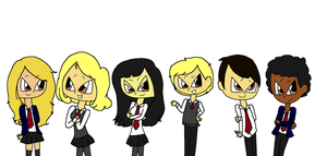 Bad Machinery-The Mystery Teens of Great Britain by Obeliskgirljohanny