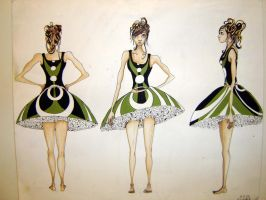 Fashion Illustration for show by juices