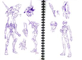 EVA01 design by SS-Cheong