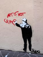 Art is not crime by Autumn--Soul