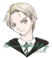 14 year old Draco Malfoy by shuui