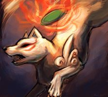 Amaterasu by OrcaOwl