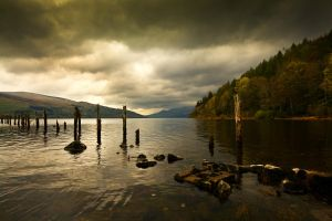 Autumn at Loch Tay, Scotland by ketscha