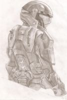 Halo ODST Rookie Shaded by MarciaMello