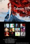 Art Calendar 2017 - Version B by Jassy2012