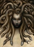 Dark Medusa by Markelli