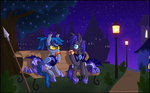 Giveaway Prize: The Quiet side of Canterlot by LadyBelva