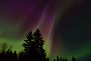 Northern lights by lexious