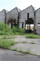 Industrial decay Stock 090 by Malleni-Stock